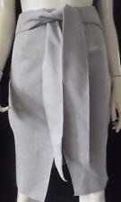 WHITE CLOSET Womens  Pale Grey Straight Skirt size 8 - BNWT
