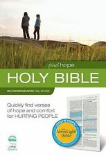 FINDING HOPE NIV VERSELIGHT BIBLE By Zondervan - Hardcover **LIKE NEW**