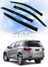 For ISUZU MU-X 15-18 Window Visor Vent Sun Shade Rain Guard Door Visor