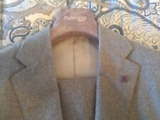 NWT SARTORIA PARTENOPEA 2 BUTTON GRAY FLANNEL SUIT 42/52