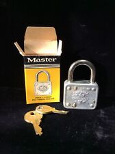 Vintage Master Lock #77 w/ Box NOS - Multiples Available New Old Stock NIP