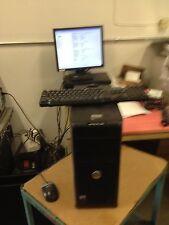 """Dell Optiplex 380 Core 2 Duo 2.93GHz 3GB 160GB Windows 7 Pro 17"""" Dell Monitor"""