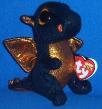 "TY BEANIE BOOS - MERLIN the 6"" DRAGON - MINT with MINT TAG  (WALGREENS EXCL)"