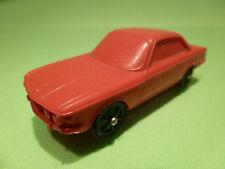 VINYL BMW 3.0 CSI  - RED 1:43 - GOOD ( NO TOMTE 1 )