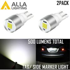 Alla LED White 168 Courtesy Light Bulb|Dome|Parking|Side Marker|Tail|Turn Signal