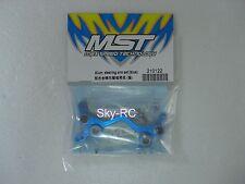 MST #210122 Alum steering arm {blue)【Sky-RC】