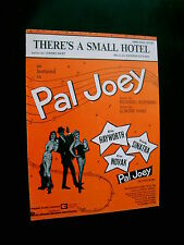 There's A Small Hotel-Sheet Music-Pal Joey--Copyright 1936 CLEARANCE PRICE
