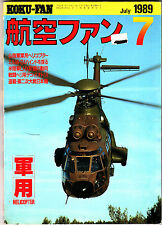 Koku-Fan Magazine July 1989 #7 Japanese Military Aircraft Poland Hercules