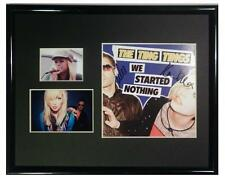 SIGNED THE TING TINGS AUTOGRAPHED CD FRAMED & MATTED
