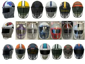 NFL FULL SIZE FAN MASK HELMET MAN CAVE DISPLAY NEW IN THE PACKAGE AWESOME ITEM!