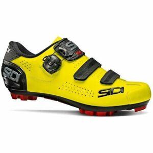 Sidi Trace 2 MTB Mountain Bicycle Cycle Bike Shoes Fluo Yellow / Black