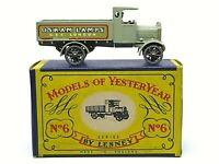 Matchbox Yesteryear Y6-1 AEC 'Y' Type Lorry 'OSRAM LAMPS' (VERY RARE GOLD TRIM)