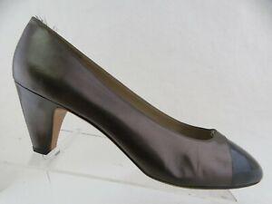 SALVATORE FERRAGAMO Brown Sz 9.5 AA Women Heel Pumps