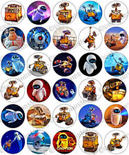 30 x Wall-E Party Edible Rice Wafer Paper Cupcake Toppers