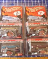 HOT WHEELS RED LINE CLUB RLC 2012 CLASSIC 57 T BIRD CHROME RED BLUE PURPLE SET