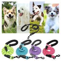 Pet Leash Reflective Running Tracking Lead Nylon Rope for Medium Large Dog Kits