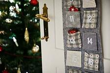 HEITMANN DECO Christmas - Advent calendar in felt to hang and fill yourself -