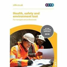 Health, Safety and Environment Test for Managers and Professionals: GT 200:...