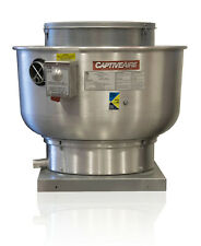 Restaurant Canopy Hood Grease Rated Belt Drive Exhaust Fan 5000 Cfm Nca24fa