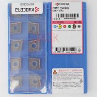 10Pcs/Box Kyocera CNMG120404HQ PR1125 CNMG431HQ Carbide Inserts New In Box