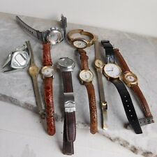 Junk Drawer Lot 10 Quartz Watches Casio Baby-G Gruen Vanderbilt Timex Nelsonic