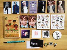 RAP MONSTER NAMJOON BTS BANGTAN OFFICIAL FANSITE Photo Card Metal Pin Sticker