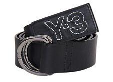 Y-3 Yohji Yamamoto Adidas Belt Leather Black Size S