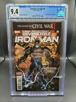 Invincible Iron Man #9 CGC 9.4 1st Full Appearance Riri Williams (2016)