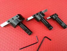 """3pc Fly Cutter Set 1/2"""" Shanks For Face Milling Cutting Lathe Turning HSS Bits"""