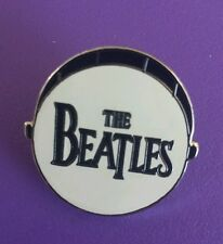 THE BEATLES BASS DRUM metal collectible PIN - free shipping!