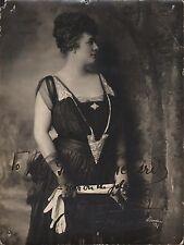OLIVE FREMSTAD - Norwegian Soprano - Orig. Handsigned B/W Photograph by Mishkin