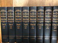 Encyclopedia of Religion (16 volume set bound in 8 volumes)Eliade, Mircea ed.