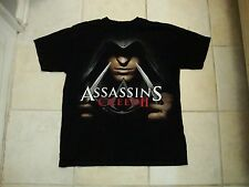 Original Assassins Creed Video Game Ubisoft Logo Release T Shirt L