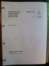 Mercedes MB-Trac 440 Reparatur-Handbuch Band 2