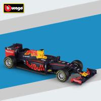 Bburago 2016 1:43 Red Bull Racing TAG Heuer RB12 33# Max Verstappen Diecast Toys