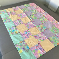 Handmade Quilt Baby Lap Quilt Pink Purple 52 1/2 X 39 Butterfly Blanket