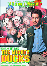 The Mighty Ducks DVD w/insert Disney  Emilio Estevez