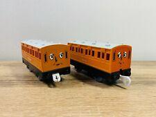 Annie & Clarabel - Thomas The Tank Engine Motorised Trackmaster Tomy Trains