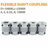 Flexible shaft coupling joint  Stepper Motor Coupler Connector  VARIOUS SIZES