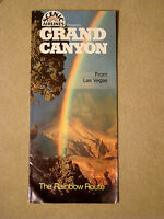 Scenic Airlines Presents:  Grand Canyon from Las Vegas - Brochure - 1980