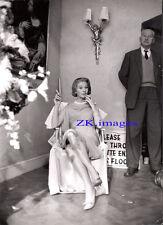 VIVIEN LEIGH Elégance Mode Fashion BALMAIN Tournage Photo 1961