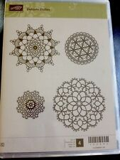 """DELICATE DOILIES"" Stampin'UP! NEW~WOOD unmounted-doilies ~"