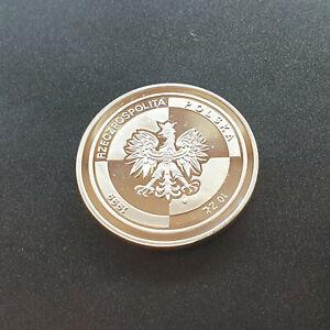 Polen - 10 Zloty 1999 - NATO Beitritt - Silbermünze
