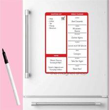 tropicale frigorifero blocco note lista della spesa con matita Lavagna magnetica memo Pad