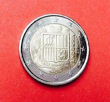 Erste 2 Euro Kursmünze Andorra 2014 - Wappen  AT