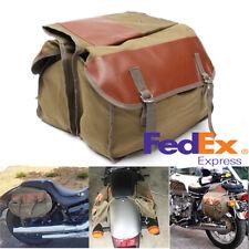 Yamaha Fits R6 Twin Saddle Bags Expandable Throw Over Panniers Saddlebag Motorcycle Travel Luggage
