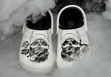 Luke Combs Crocs Skully Fur Lined Clogs Rare LC3 Womens 10/Men 8 On hand Unisex