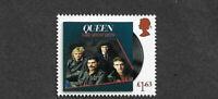 Queen-2020-Freddie Mercury new stamp mnh Great Britain-Rock Music