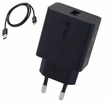 Caricabatterie 2A AD897020 + Cavo Micro USB Originale Asus per Zenfone 2 3 Max