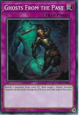 YU-GI-OH CARD: GHOSTS FROM THE PAST - SDCL-EN040 - 1ST EDITION